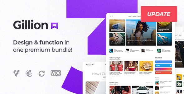 Gillion Multi Concept Blog Magazine Shop