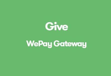 Give WePay Gateway