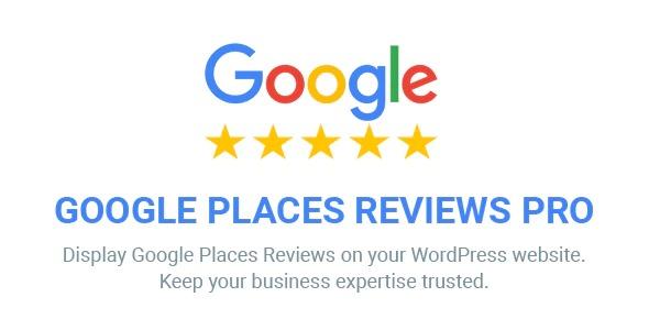 Google Places Reviews Pro WordPress Plugin