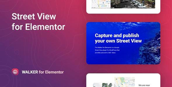 Google Street View for Elementor – Walker