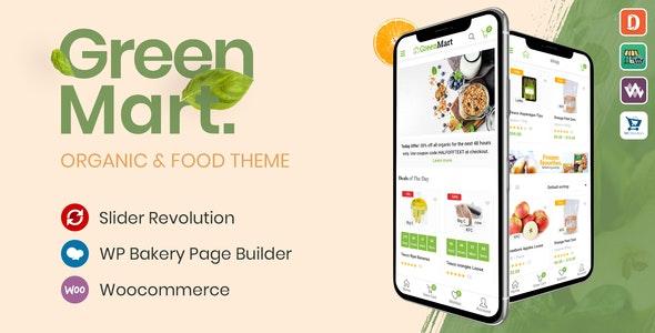 GreenMart Organic Food WooCommerce WordPress