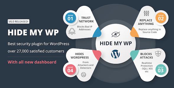 Hide My WP - Amazing Security Plugin for WordPress!