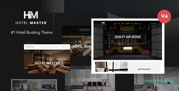 Hotel Master Booking WordPress theme