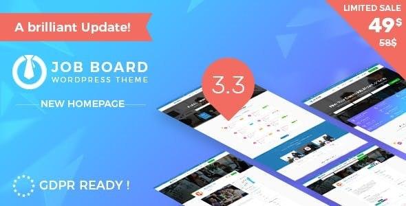 nJob Multi features recruitment WordPress Theme