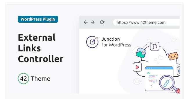 JUNCTION — EXTERNAL LINKS CONTROLLER FOR WORDPRESS 1.0.2