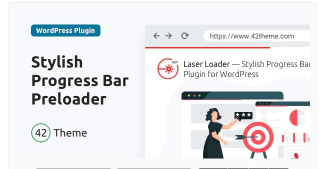 LASER LOADER – STYLISH PROGRESS BAR PRELOADER v1.0.0
