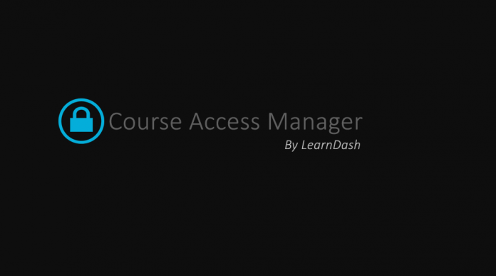 LEARNDASH LMS COURSE ACCESS MANAGER ADDON v1.0