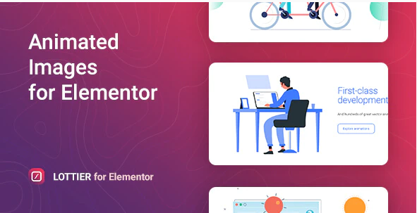 LOTTIER LOTTIE ANIMATED IMAGES FOR ELEMENTOR v1.0.0