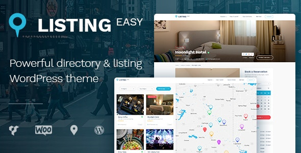 ListingEasy Directory Listing WordPress theme