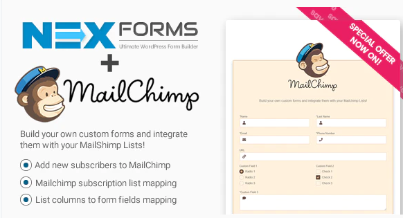 MAILCHIMP FOR NEX FORMS v7.5.12.1