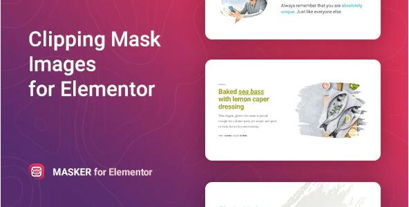 MASKER CLIPPING MASK FOR ELEMENTOR