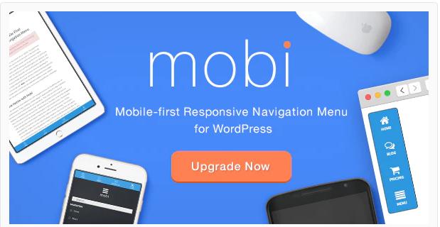 MOBI MOBILE FIRST WORDPRESS RESPONSIVE NAVIGATION MENU PLUGIN v3.0