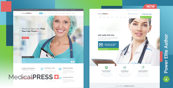 MedicalPress Health WordPress Theme