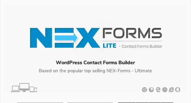 NEX FORMS LITE WORDPRESS FORM BUILDER PLUGIN v7.5.13