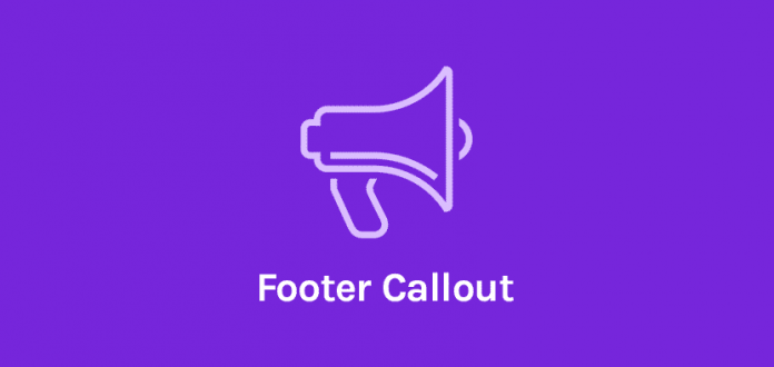 OCEANWP FOOTER CALLOUT ADDON