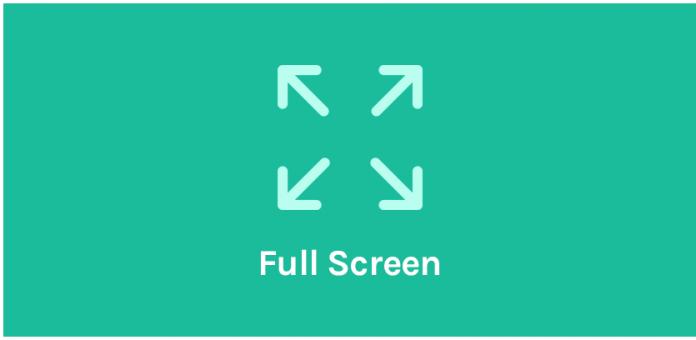 Oceanwp Full Screen Addon