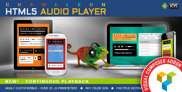 VISUAL COMPOSER ADDON CHAMELEON AUDIO PLAYER