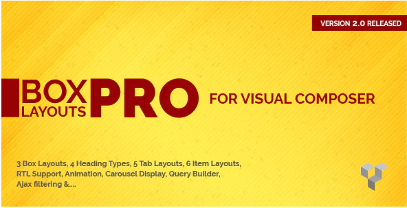 PRO BOX LAYOUT FOR VISUAL COMPOSER v2.1