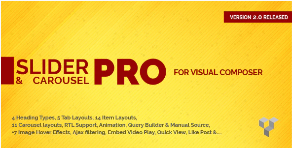 PRO SLIDER CAROUSEL LAYOUT FOR VISUAL COMPOSER