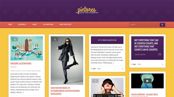 Pintores WordPress Theme Free Download