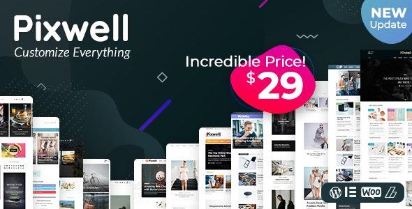 Pixwell - Modern Magazine Wordpress Theme Developerszone