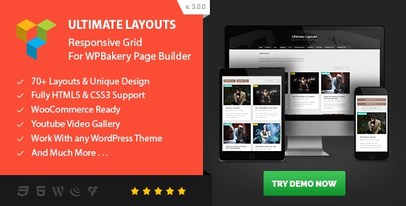 ULTIMATE LAYOUTS RESPONSIVE GRID ADDON