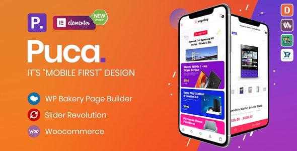 Puca - premium theme for WooCommerce online store