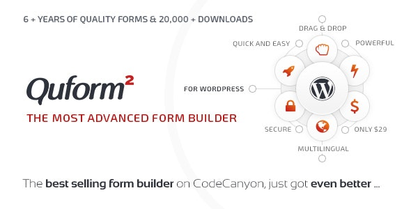 QUFORM – WORDPRESS FORM BUILDER 2.12.0