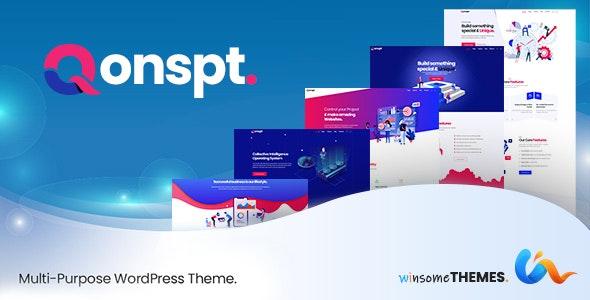 Qonspt Multipurpose WordPress Theme