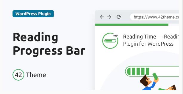 READING TIME READING PROGRESS BAR FOR WORDPRESS v1.2.1