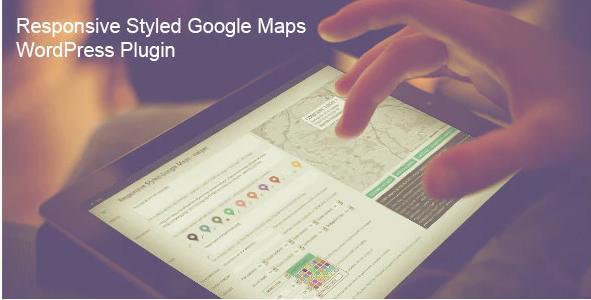 RESPONSIVE STYLED GOOGLE MAPS WORDPRESS PLUGIN v5.0
