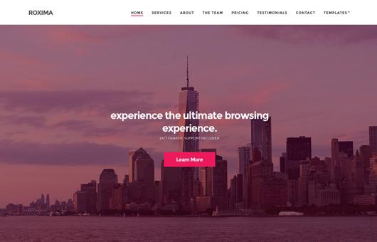 Roxima WordPress Theme Free Download