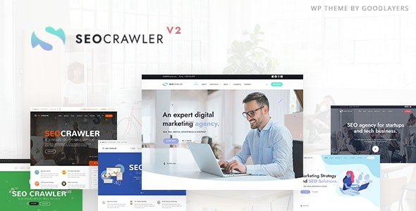 SEOCrawler SEO Marketing Agency WordPress