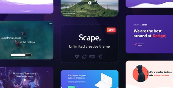 Scape Multipurpose WordPress Theme