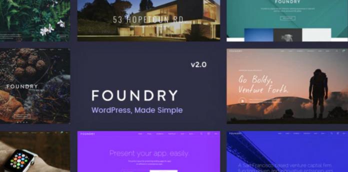 Foundry Multipurpose MultiConcept WP Theme v2.1.8