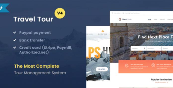 Travel Tour Booking WordPress Theme Download