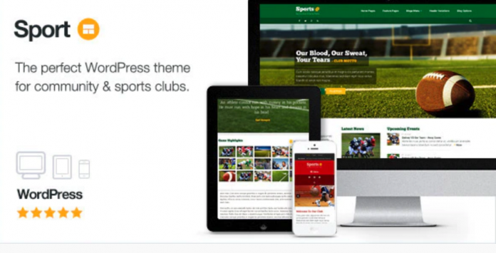 Sport - WordPress Club Theme Version 2.10