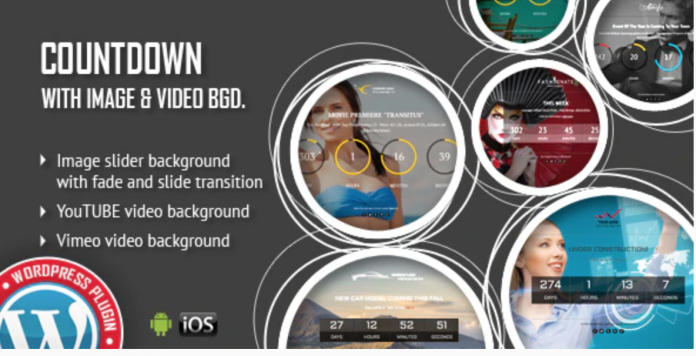 COUNTDOWN WITH IMAGE OR VIDEO BACKGROUND PLUGIN