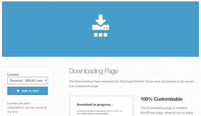 DOWNLOADING PAGE