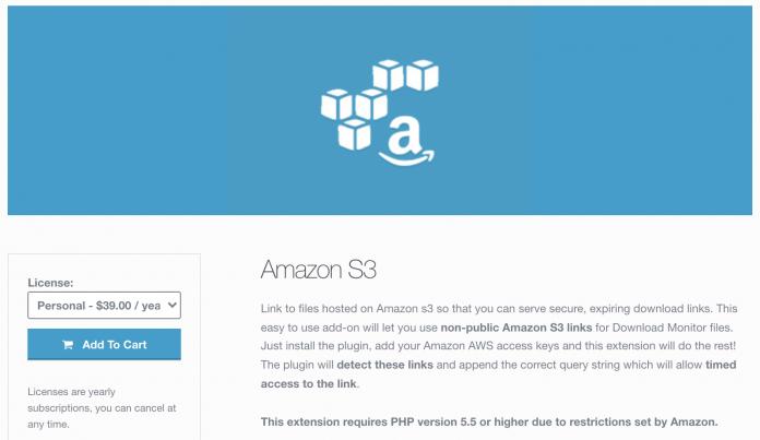 AMAZON S3 Wordpress Plugin