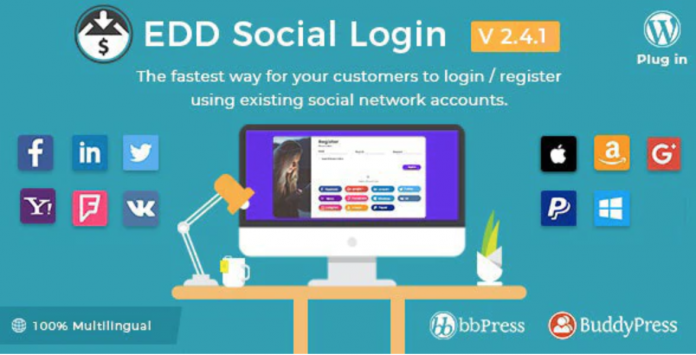 SOCIAL LOGIN Wordpress Plugin