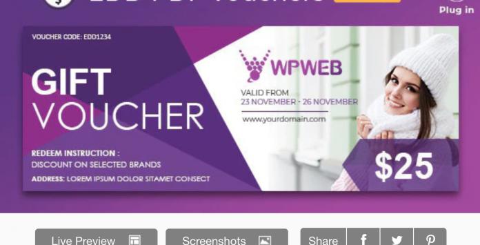 PDF VOUCHERS Wordpress Plugin