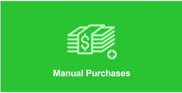 MANUAL PURCHASES ADDON