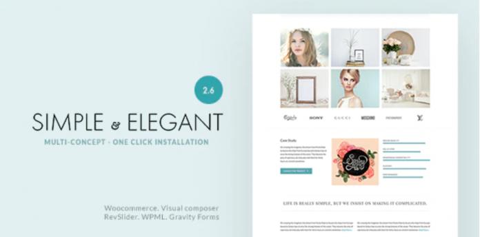 Elegant MultiPurpose WordPress Theme