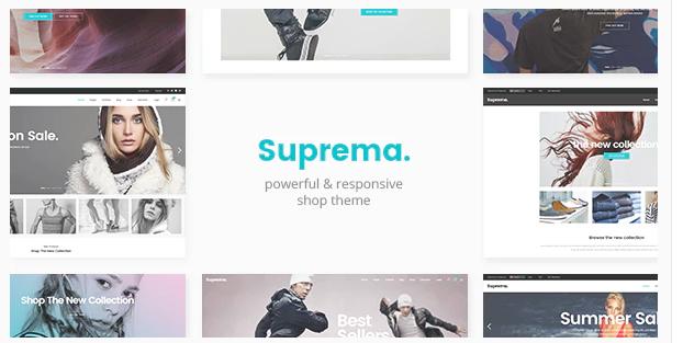Suprema Multipurpose eCommerce Theme Version