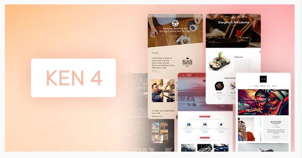 The Ken Multipurpose Creative WordPress Theme