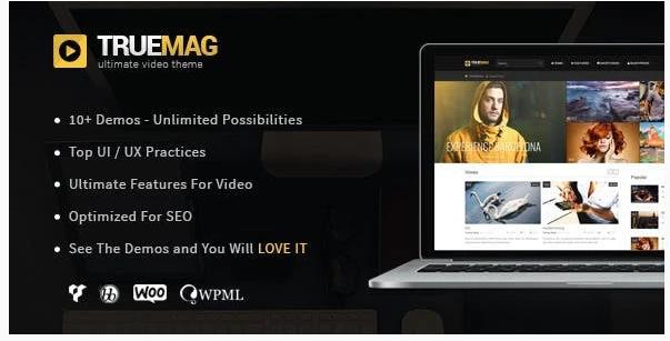 True Mag WordPress Theme for Video and Magazine v 4.3.3