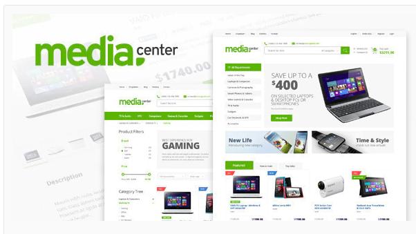 MediaCenter WooCommerce Theme