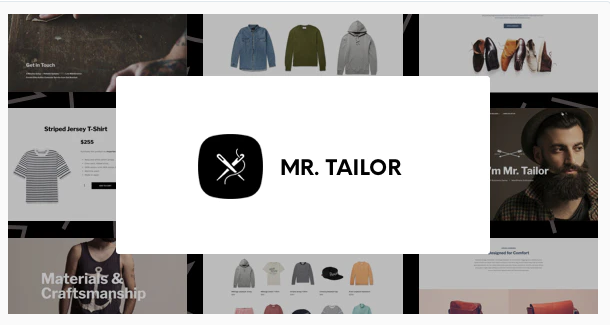 Mr Tailor eCommerce WordPress Theme