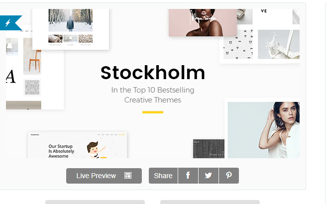 Stockholm A Genuinely MultiConcept Theme